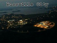 Rossville in the background and HBOIERC in the foreground. Photo taken by Ken Gamblin, summer of Norway House, My Community, Airplane View, City, School, Summer, Summer Time, Verano