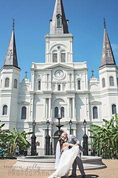 Jackson Square Wedding, New Orleans Wedding,  Megan Jolly Photography ||mjollyphotography.com||