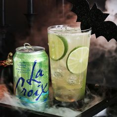 LaCroix Ginger B'Witched is an easy to make, Halloween mocktail. Enjoy LaCroix.