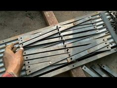 Channel gate kaise banaye - YouTube Fabrication Work, How To Make Metal, Gate, Channel, Youtube, Plants, Plant, Youtubers, Youtube Movies