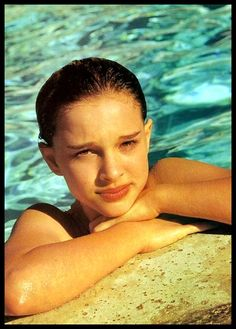 Young Natalie Portman...