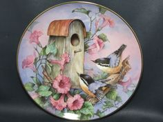 Royal Doulton - Franklin Mint - Nuthatch Nook by Carolyn Shores Wright