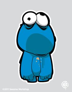 Sesame Street Characters Zombified