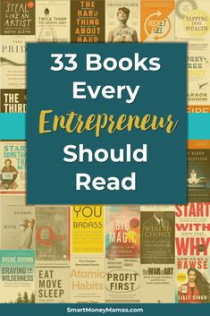 Now I have so many books to read! Really want to grow my business in so need to keep learning and growing. Pinning this for my reading challenge Entrepreneur Books, Reading Tips, Reading Challenge, Career Advice, Make More Money, Great Books, Book Recommendations, Book Lists, Personal Finance