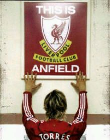 Fernando Torres Song. His armband proved he was a red, Torres Torres, you'll never walk alone it said Torres Torres, we bought the lad from sunny Spain, he gets the ball he scores again, Fernando Torres, liverpool's number 9!