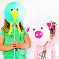 DIY Animal Balloon Kit