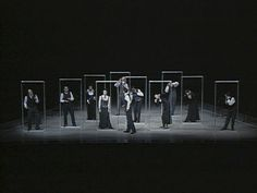 steven berkoff the trial.  I've pinned it to sets, but I love the way the repeated frame emphasises the differences in the actors' poses.