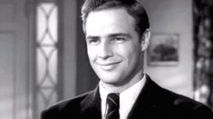 marlon brando - screen test rebel without a cause  .gif (500×281)