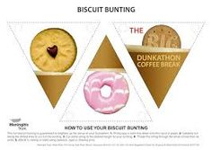 Image result for biscuit bunting Coffee Break, Bunting, Biscuits, Image, Crack Crackers, Garlands, Cookies, Buntings, Biscuit