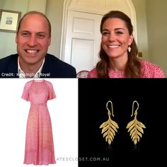 Duchess Kate's outfit for a virtual game of bingo with care-home residents on 20 May 2020 Princess Outfits, Princess Kate, Princess Charlotte, Duchess Kate, Duke And Duchess, Duchess Of Cambridge, Kate Middleton Outfits, Middleton Family, Prince William And Kate