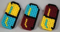 The colored pills from Doctor Mario on the NES. Check out other things I've made on my website: http://www.crafts.geek-craft.com