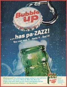 Bubble Up Ad.