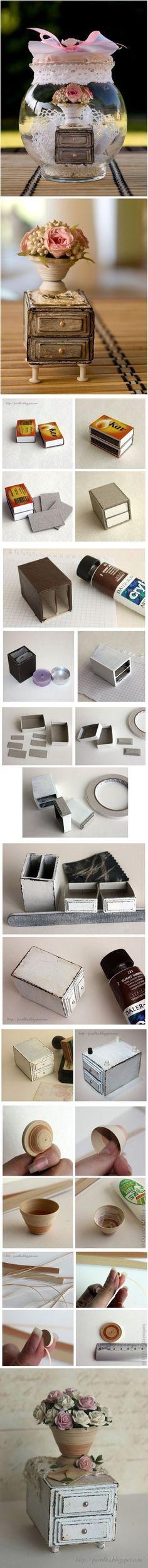 DIY Matchboxes Furniture DIY Matchboxes Furniture by diyforever
