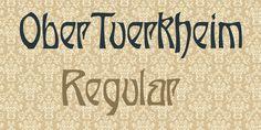 OberTuerkheim Font · 1001 Fonts
