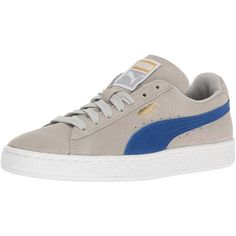 Amazon.com   PUMA Women's Suede Classic Wn's Fashion Sneaker   Fashion... ($25) ❤ liked on Polyvore featuring shoes, sneakers, suede trainers, suede sneakers, suede shoes and suede leather shoes