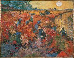 Vincent van Gogh - The red Vineyard
