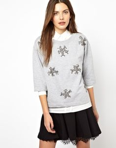 French Connection Snowflake Sweater $121.60