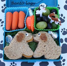 Dog Bento (there are a lot of cute bento ideas on here)