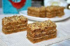 prajitura cu ness si nuca Romanian Desserts, Romanian Food, Mini Pavlova, Cute Baking, Almond Cookies, Eat Cake, Cupcake Cakes, Cupcakes, Food To Make