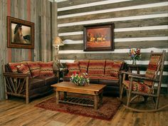 decor rustic cabin decor with furniture sofa and wooden table also flower vase and table lamps - Rustic Cabin Decor