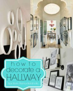 Narrow Hallway Wall Decor Ideas
