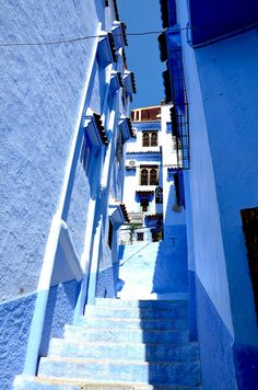 Chefchaouen, the amazing blue city! #Travel #Morocco #Architecture