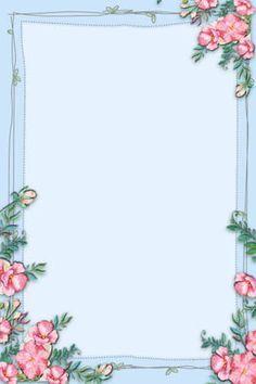Flower Background Wallpaper, Flower Phone Wallpaper, Frame Background, Flower Backgrounds, Paper Background, Colorful Backgrounds, Frame Floral, Flower Frame, Borders And Frames