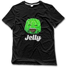 Kwebbelkop Kops Adult Black T-shirt Gaming Gamer Youtuber Fan Size L