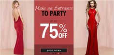 Place your order now. Save Up to 75% Off On Party Wear Dresses at #MayKool. Avail this big discount on various products like #PartyDresses, #Bodycon Dresses... which are mentioned at May Kool. For More Visit http://www.mydealswallet.com/store/maykool-coupon-codes.html