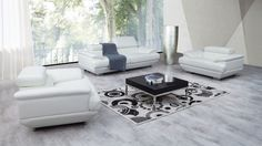 Lexington Leather Sofa Suite 3 + 2 + 1 - Lounge Life