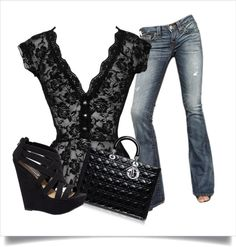 """A Night Out"" by tlinds04 on Polyvore"