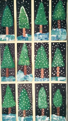 Les sapins année nadal christmas crafts for kids, christmas crafts y . Winter Art Projects, Christmas Crafts For Kids, Christmas Projects, Winter Christmas, Holiday Crafts, Craft Projects, Winter Diy, Winter Project, Magical Christmas