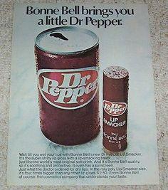 Dr. Pepper Lip Smacker
