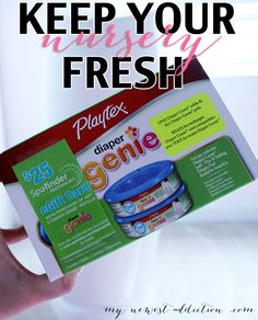 Keep Your Nursery Fresh with Diaper Genie - My Newest Addiction Beauty Blog #RefreshYourNursery #pmedia #ad