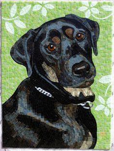 'Banshee' mosaic - by Donna Van Hooser (sundogmosaics), via Flickr