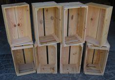 Cajas, cajas y más cajas. De todos los colores, de todas las formas #madera #mueble #rustico #cosas #artesanal #diseño #interior #exterior #decoracion #wood