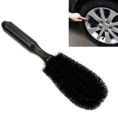 MAYITR Durable Car Wheel Tire Rim Scrub Brush Washing Cleaning Tool For Vehicle Motorcycle Car Wash Cleaner