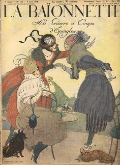Journal francaise: La Baionnette, Nr. 144, 1918,