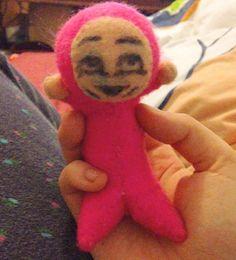 Youtubers - Filthy Frank's Pink Guy Plushie by Jack-O-AllTrades.deviantart.com on @DeviantArt