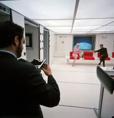 "Behind the scenes of ""2001: A Space Odyssey"""