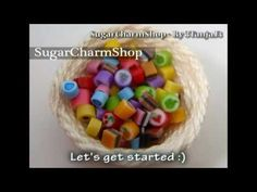 how to: polymer clay hard candies