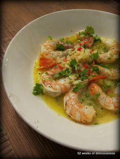 Voihan mikä rapuherkku silmiini osui surffaillessani blogimaailmassa. Soul Kitchen-blogissa oli niin maukas resepti että sitä oli pakko kokeilla!