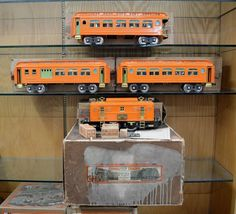 Lionel Standard  Gauge PO-50 Set with Set Box and Boxes Made 1928 to 1929 Only  | eBay