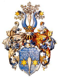 Wappen der Familie von Siemens / Coat of Arms of The Family von Siemens / Armas de la Familia von Siemens