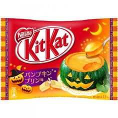 Nestle Kit Kat mini bar kitkat Japanese pumpkin pudding Limited Halloween Japan | eBay