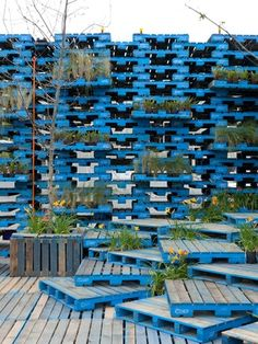 Pallet Pavilion: Gap Filler's brief for the Pallet Pavilion was to create a space for live music and other community events for the summer.