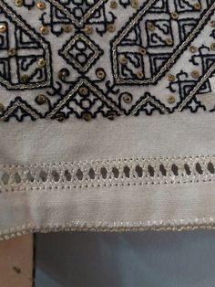 IaAidoma. Romanian blouse detail. Handmade by Viorica Stemate
