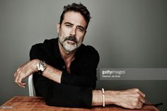 Jeffrey Dean Morgan of 'Desierto' poses for a portrait during the 2015 Toronto Film Festival on September 13, 2015 in Toronto, Ontario.