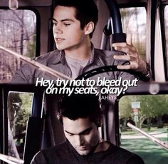The beginnings of Sterek