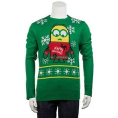 Men's Despicable Me Minion Holiday Sweater